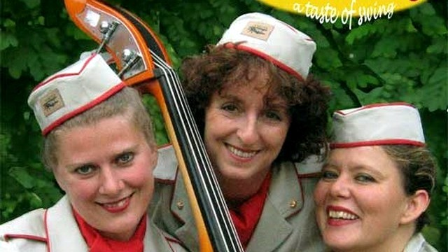 Andrews Darlings, andrews sisters coverband 3566